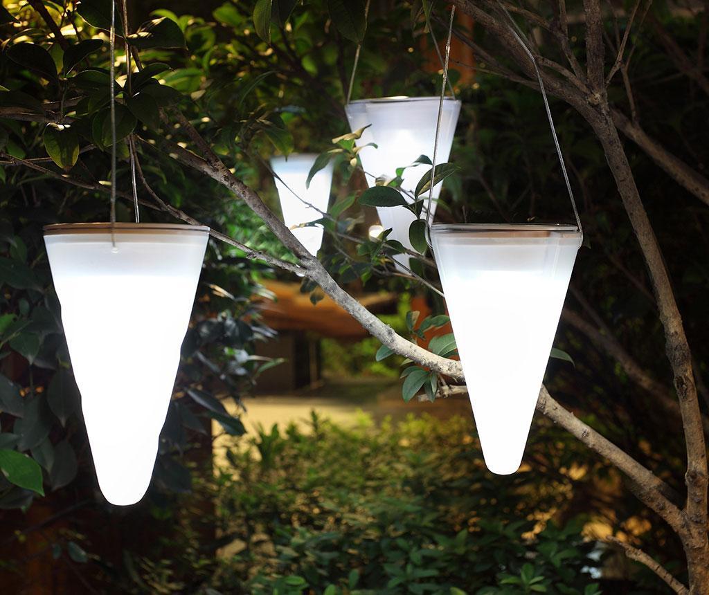 Hang Cream Felfüggeszthető napelemes lámpa