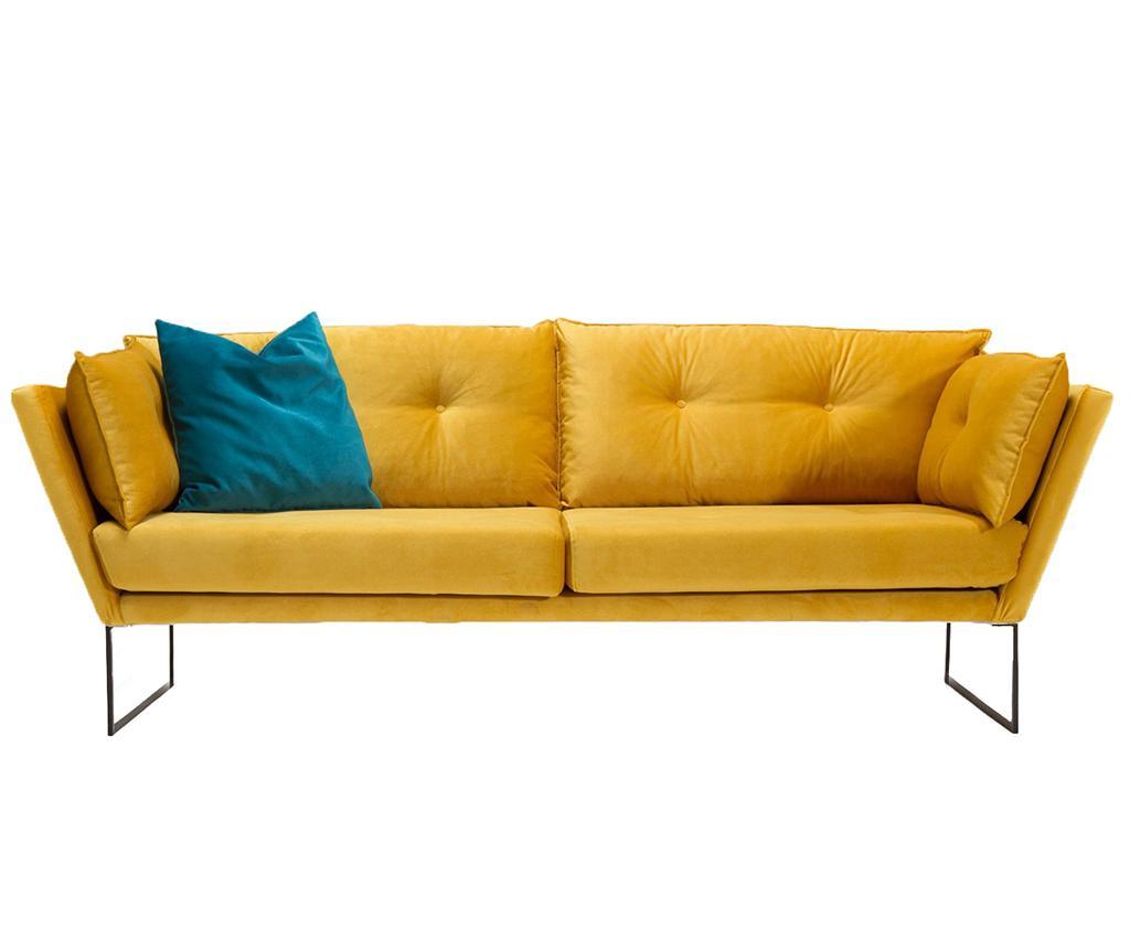 Триместно канапе Relax Mustard Yellow
