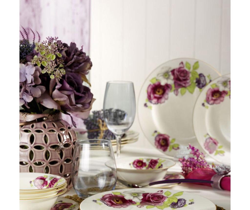 Jídelní souprava, 24 dílů Roses Bouquet