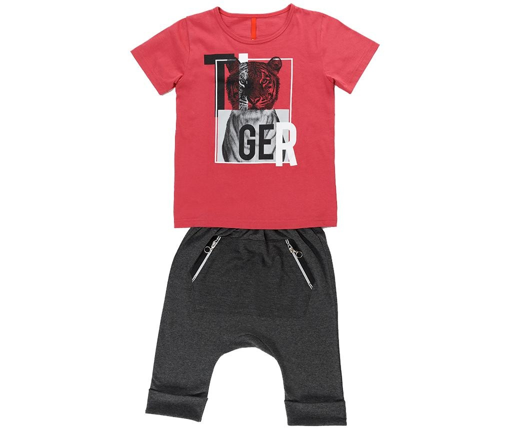 Set tricou si pantaloni copii Tiger 10 ani
