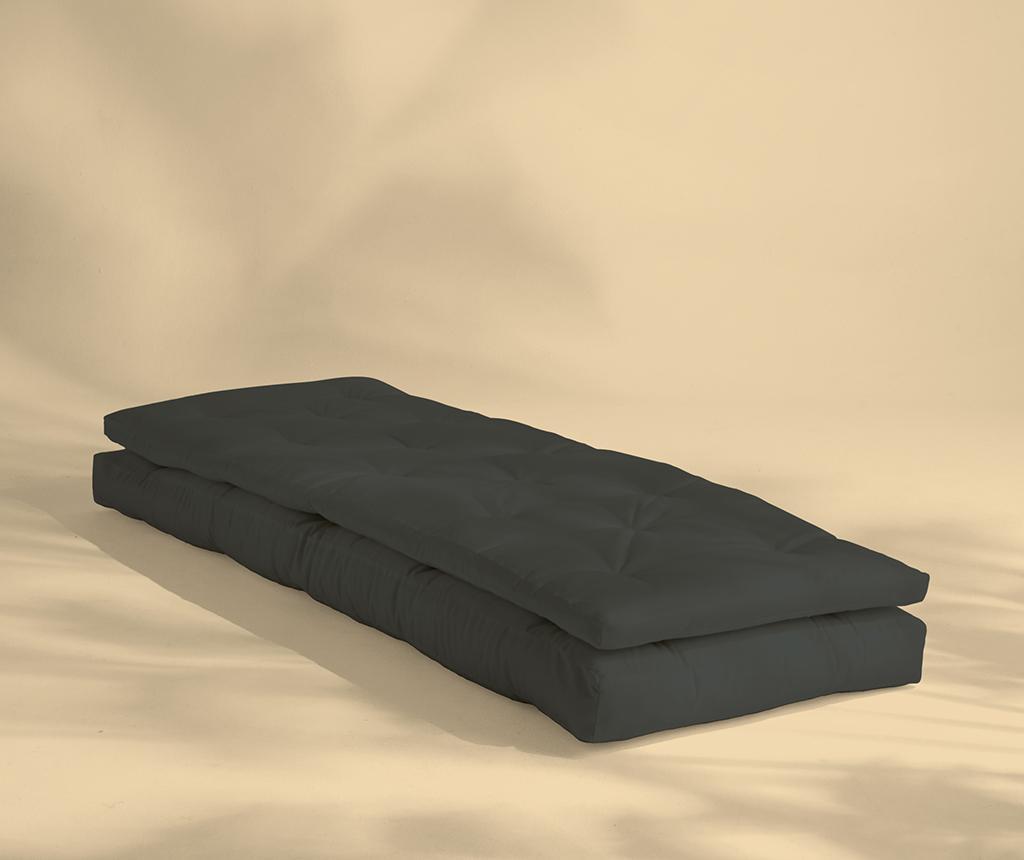 Fotoliu extensibil de exterior Buckle Up Out Dark Grey 70x200 cm