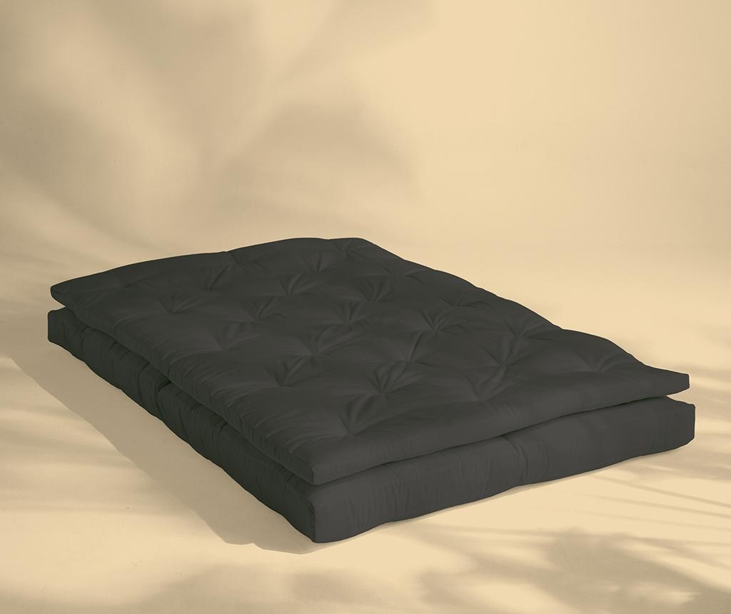Sofa extensibila pentru exterior Buckle Up Out Dark Grey 140x200 cm