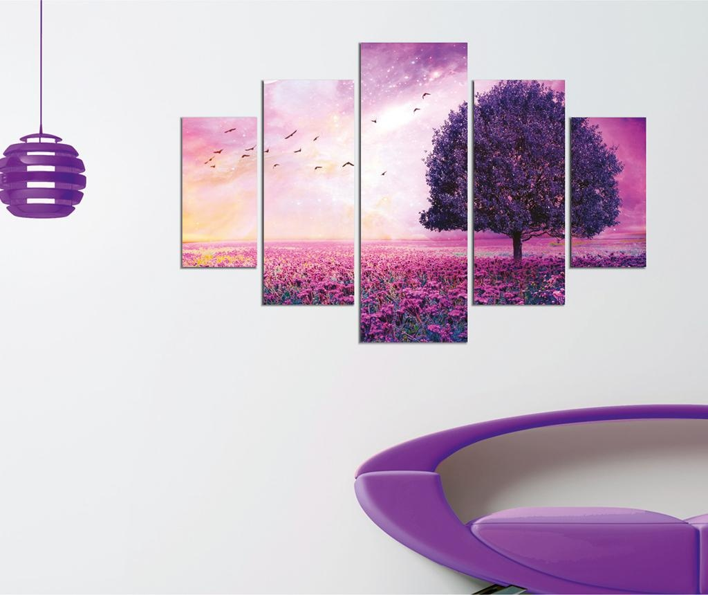 Purple Tree 5 db Kép