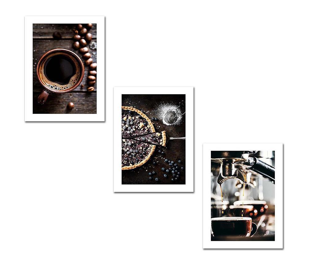 Set 3 slike Morning 30x40 cm