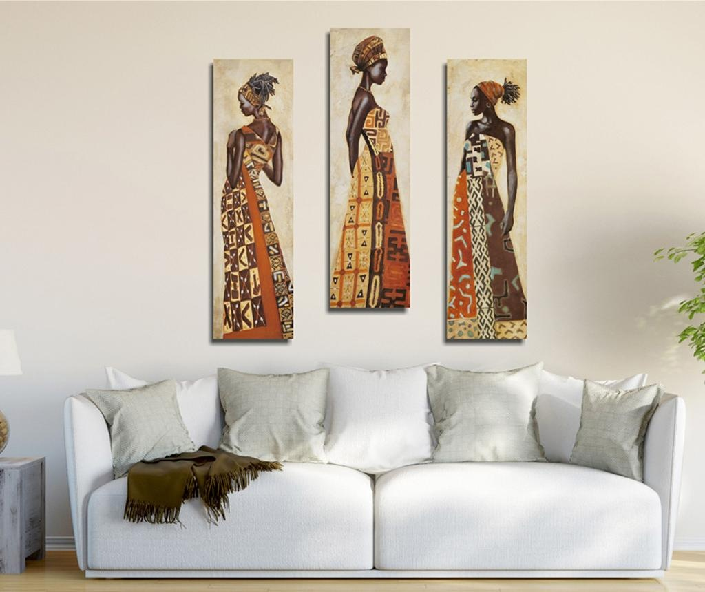 Set 3 tablouri Complete 20x70 cm