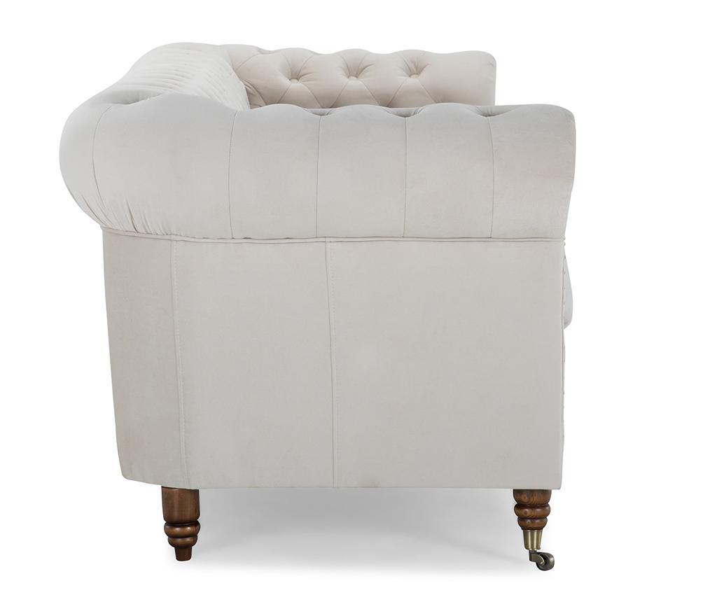 Canapea 4 locuri Chesterfield Beige