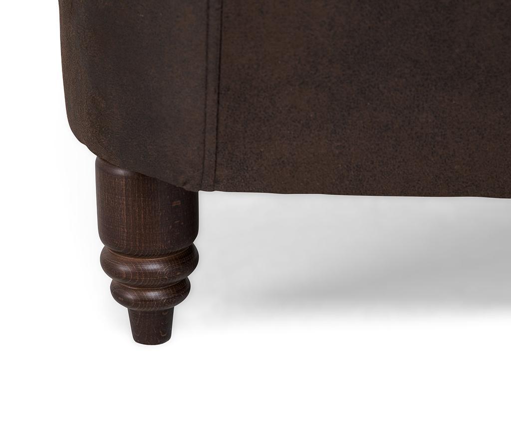 Kauč dvosjed Chesterfield Vintage Brown