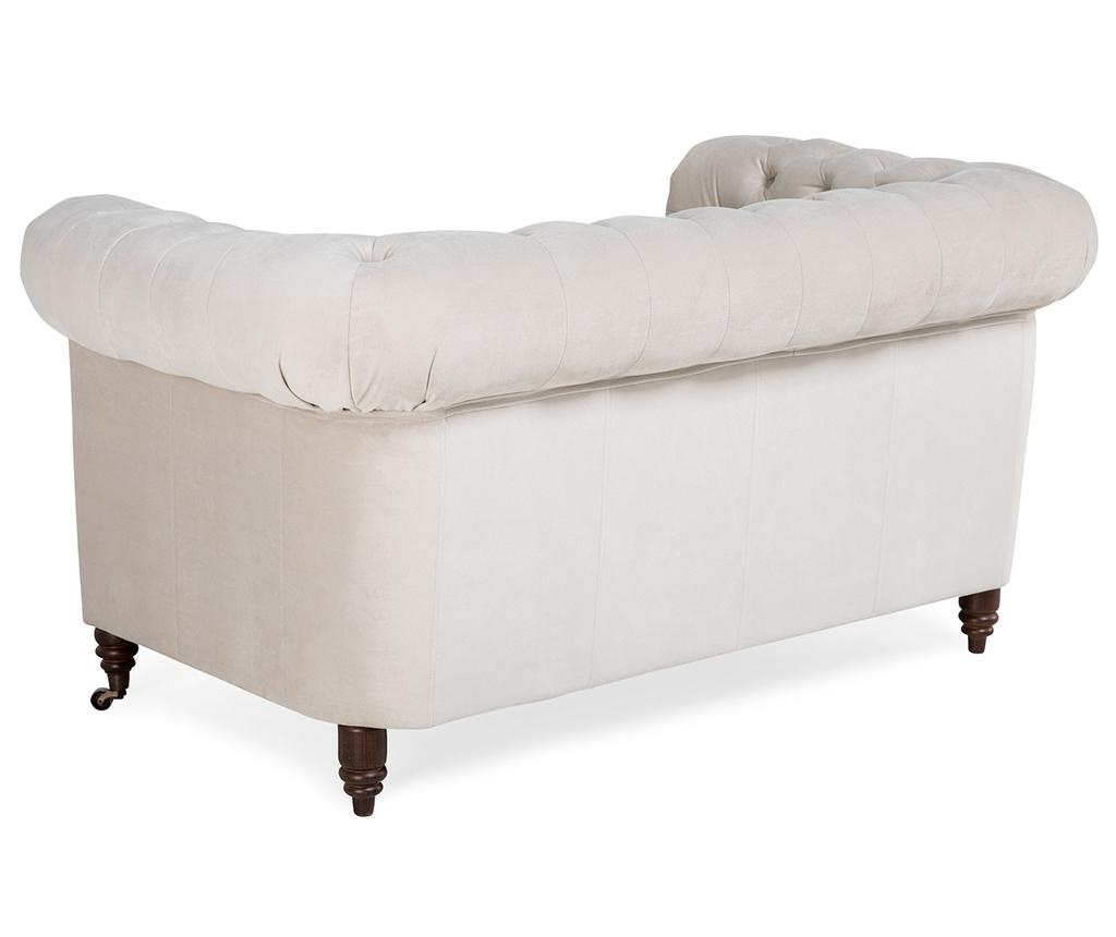 Canapea 2 locuri Chesterfield Beige