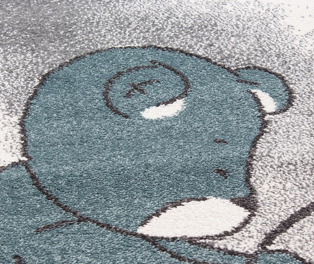 Covor Teddy Bear Round Blue 160 cm