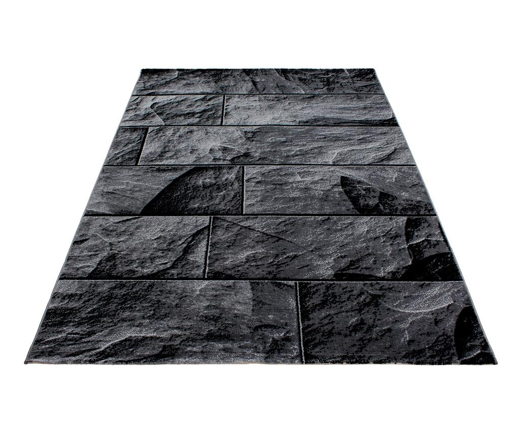 Covor Parma Bricks Black 120x170 cm