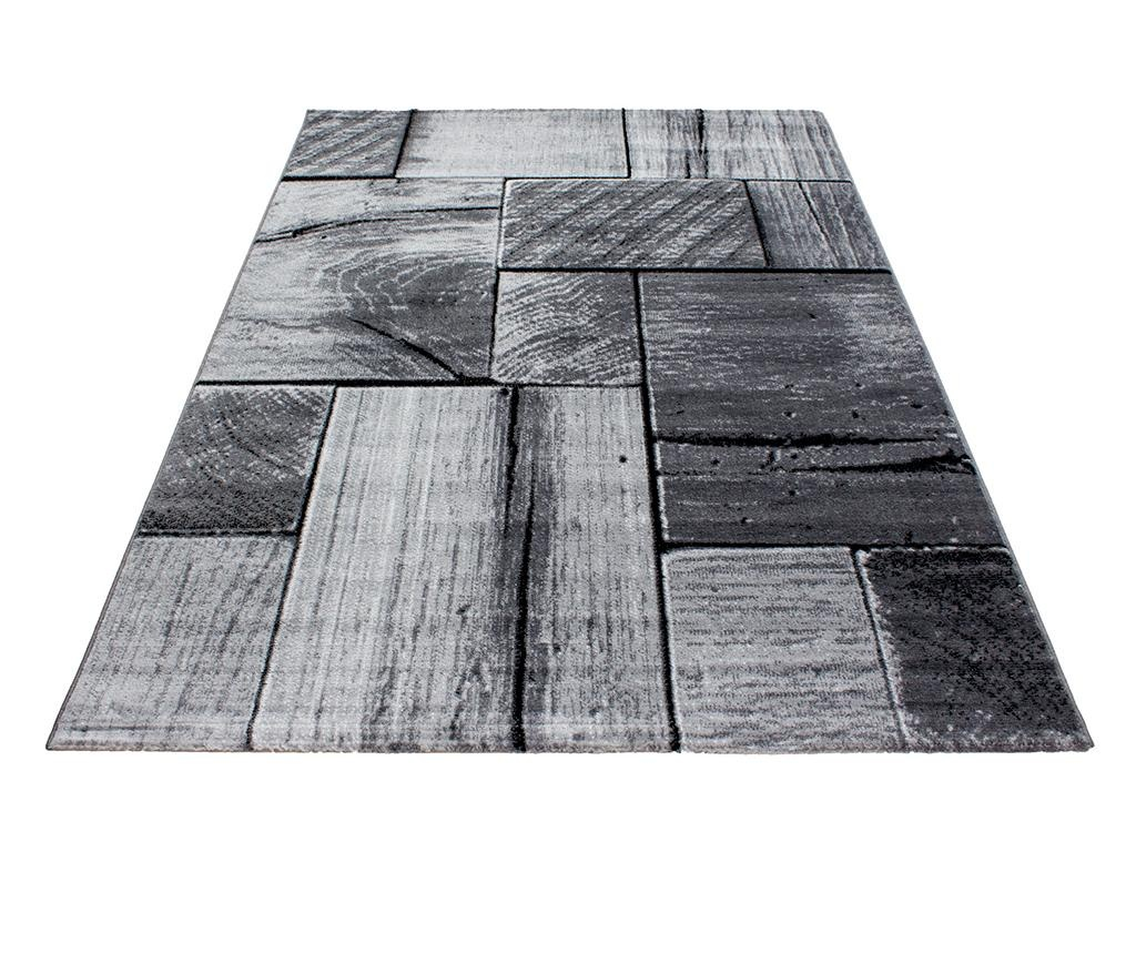 Covor Parma Wood Black 80x150 cm