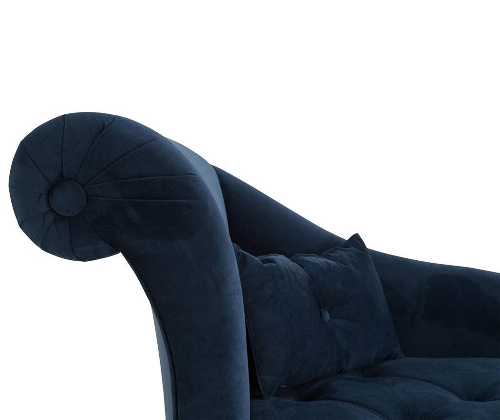 Desni počivalnik za dnevno sobo diYana Petrol Blue