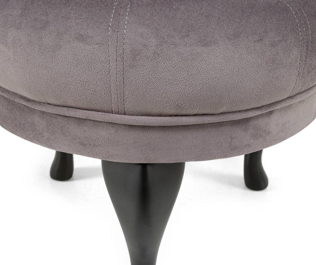 Taburet pentru picioare diYana Grey