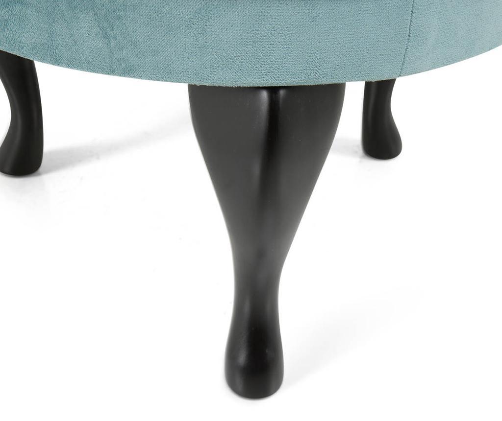 Taburet pentru picioare diYana Turquoise