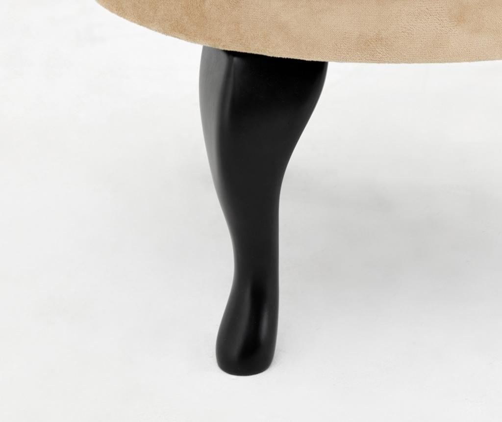 Taburet pentru picioare diYana Beige