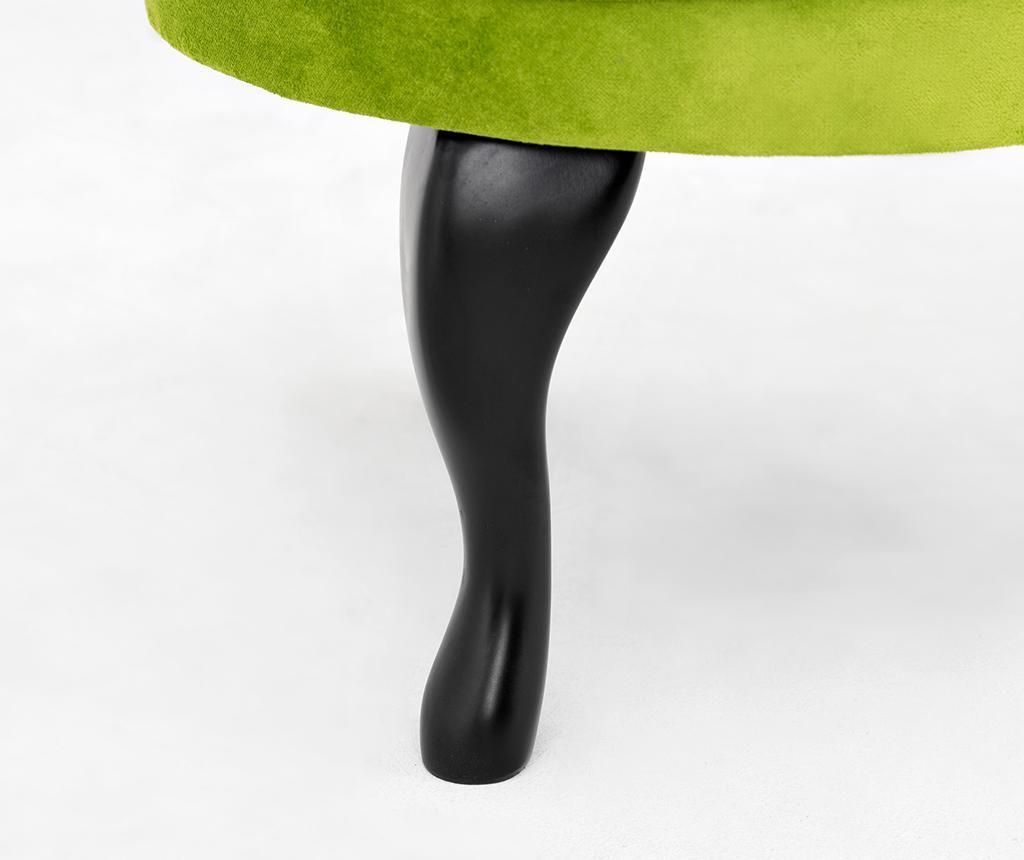 Taburet pentru picioare diYana Green