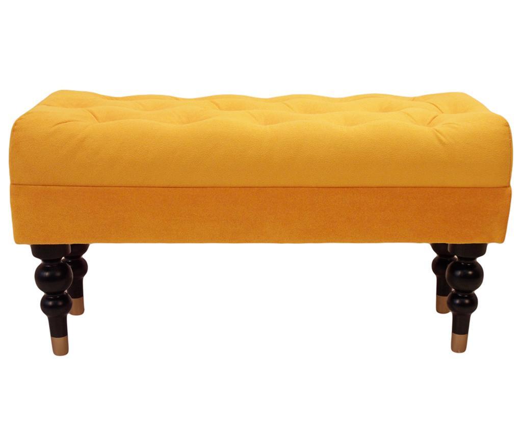 Klupa diYana Classic Yellow