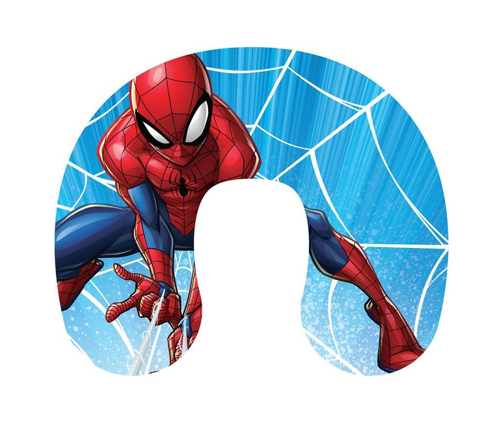 Potovalna blazina za otroke Spiderman Web