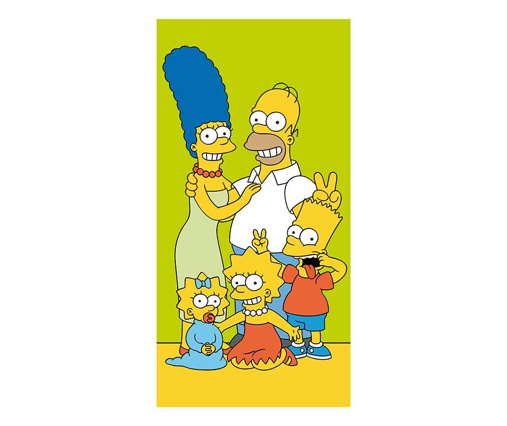 Prosop de plaja Simpsons Family 70x140 cm