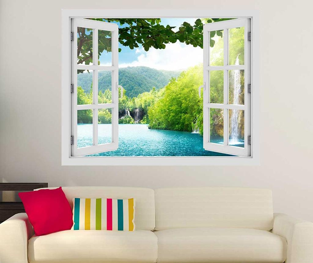 Sticker 3D Window Croatia Lake