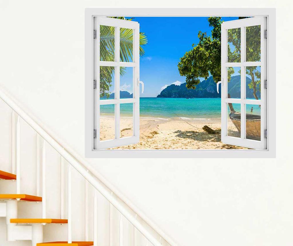 Sticker 3D Window Phi Phi Island