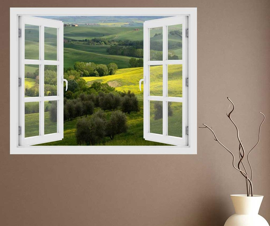 Sticker 3D Window Italy Toscana