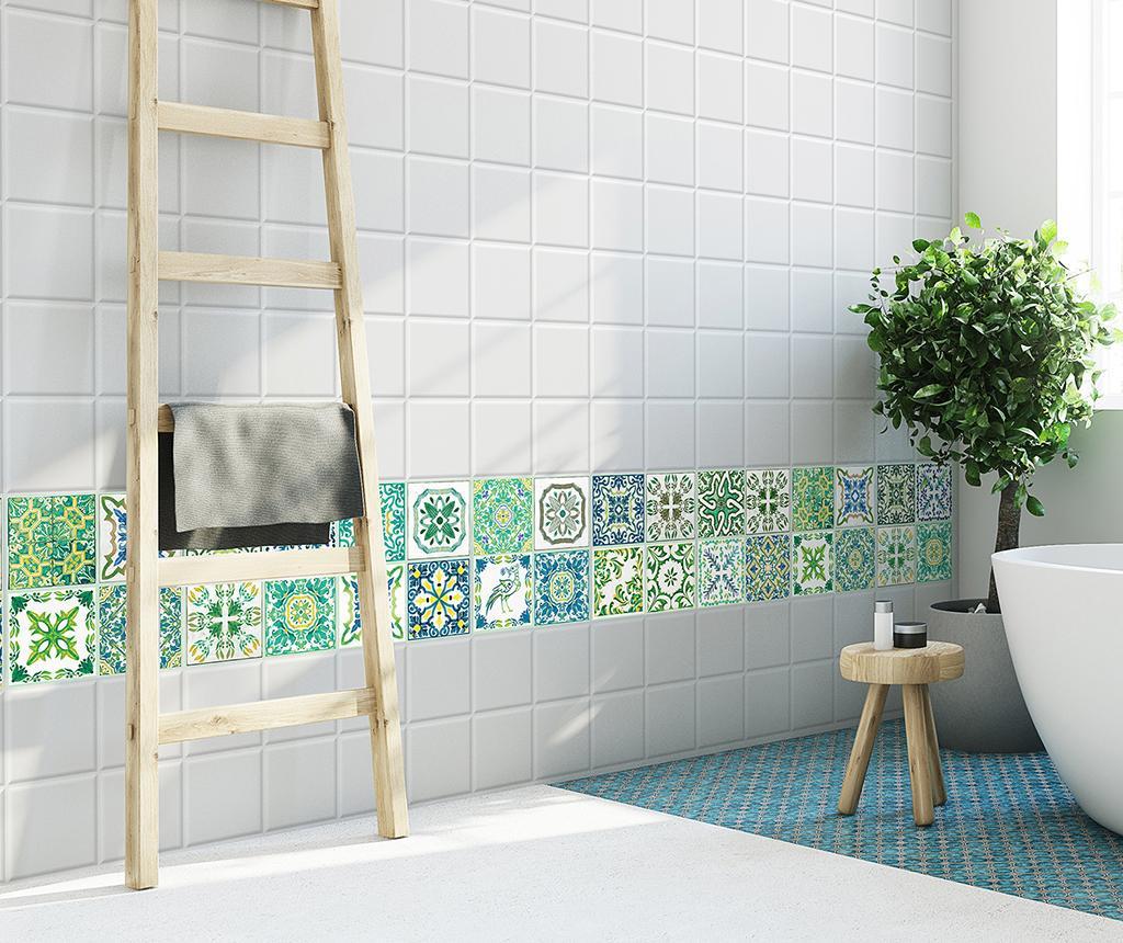 Tiles Turkish Green 24 db Matrica