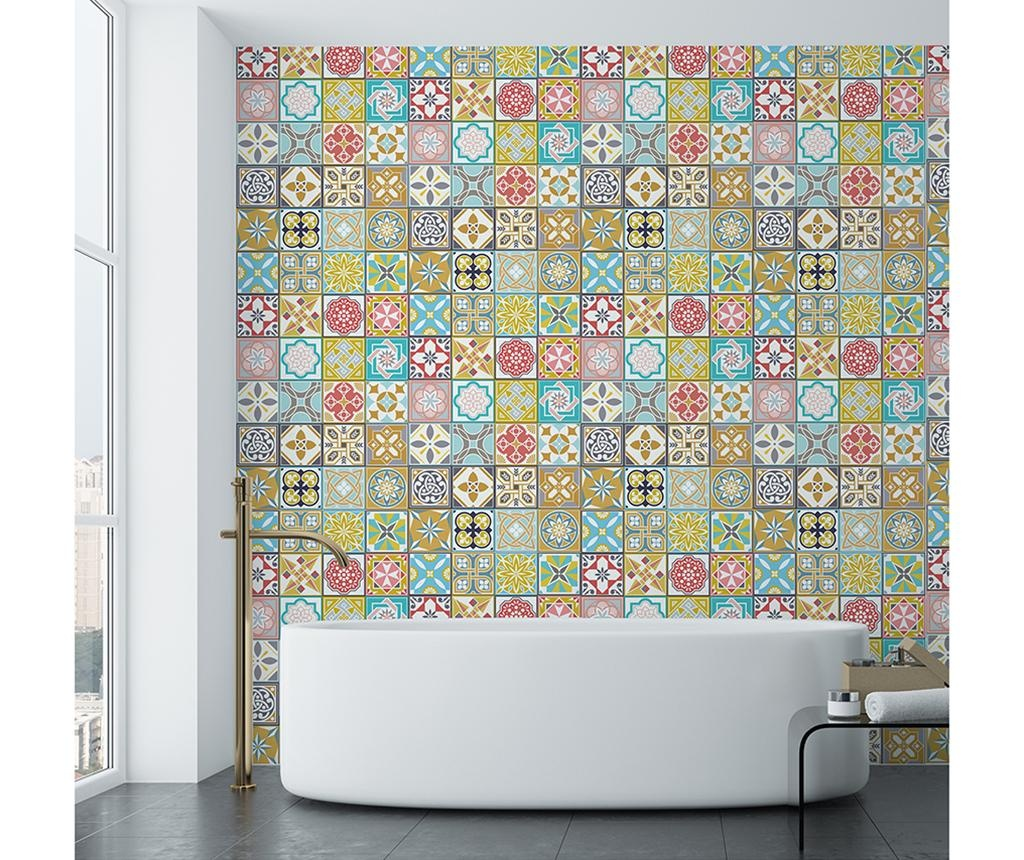 Malia Colorful Home Tiles 24 db Matrica