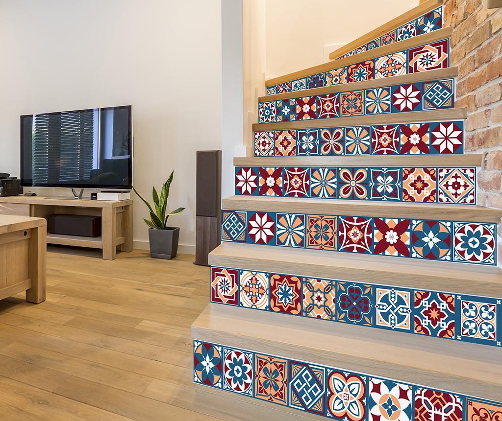 Set 24 stickere Tile Westminster