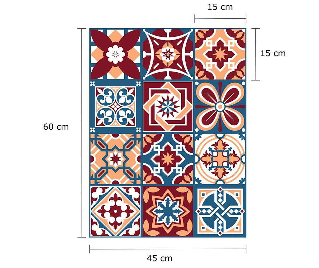 Tile Westminster 24 db Matrica