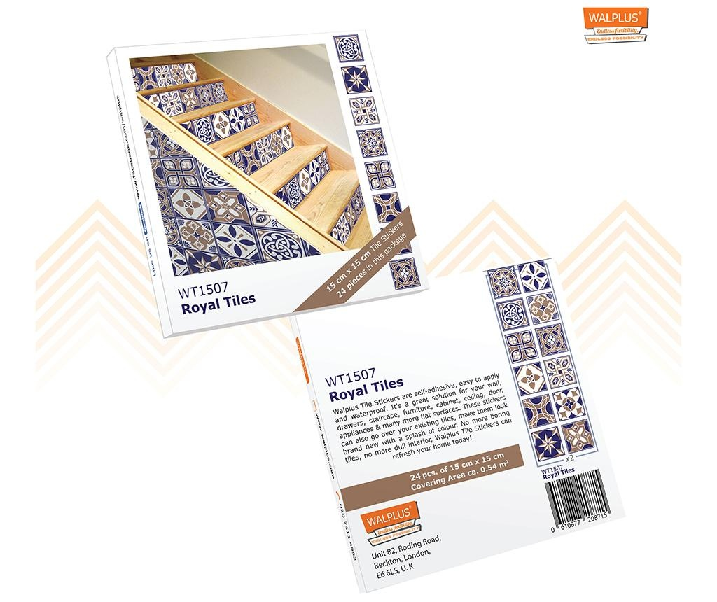Tile Royal 24 db Matrica