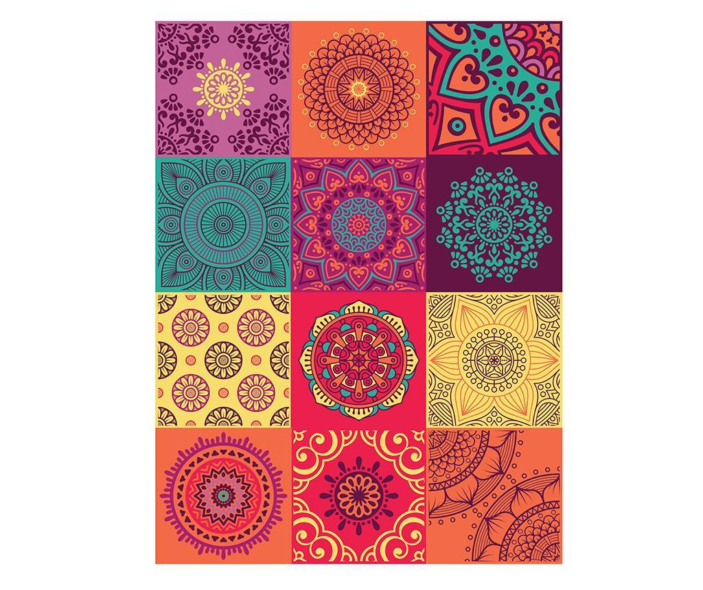 Set 24 stickere Mandala Colorful