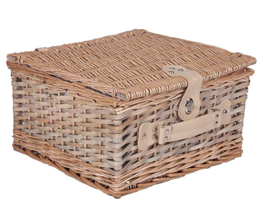 Cos echipat pentru picnic 4 persoane Vasco