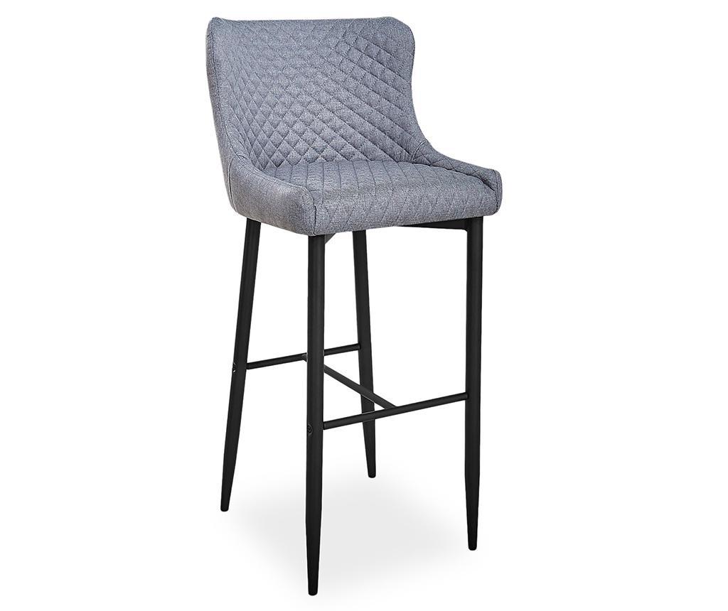 Krzesło barowe Bluvel Grey