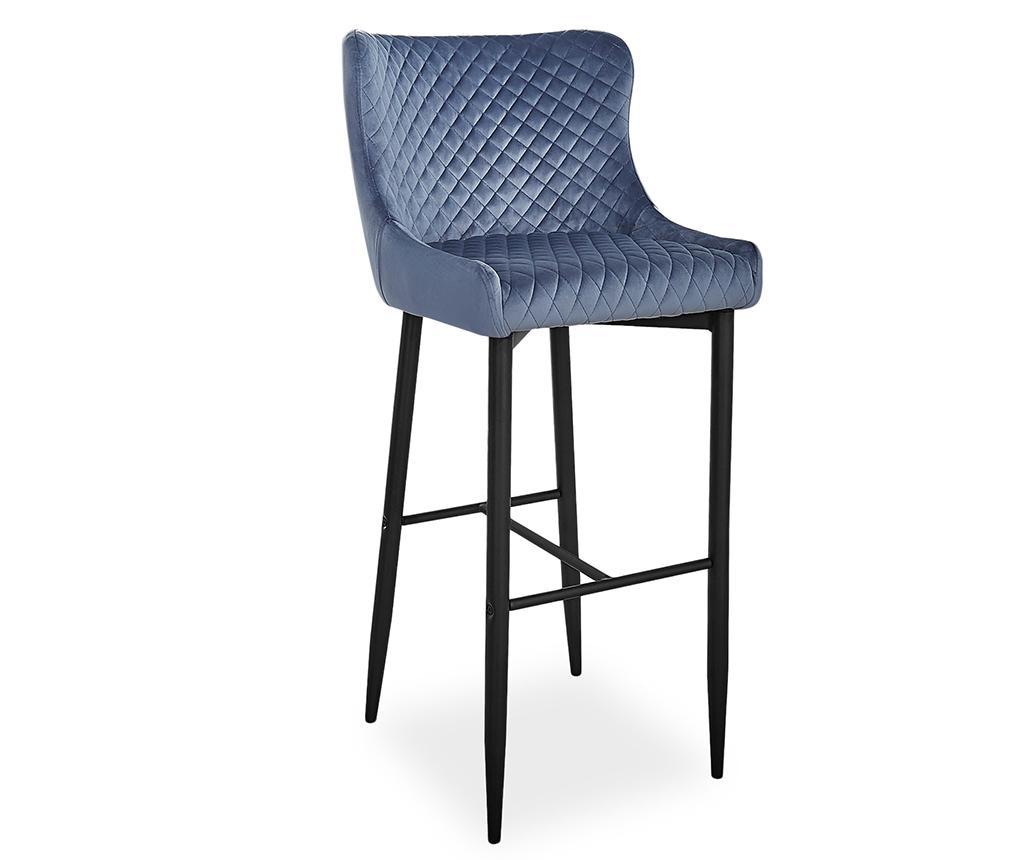 Barová stolička Luna Grey