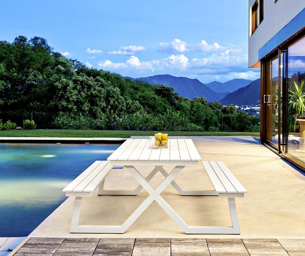 Masa cu 2 banci pentru exterior Relaxing Time