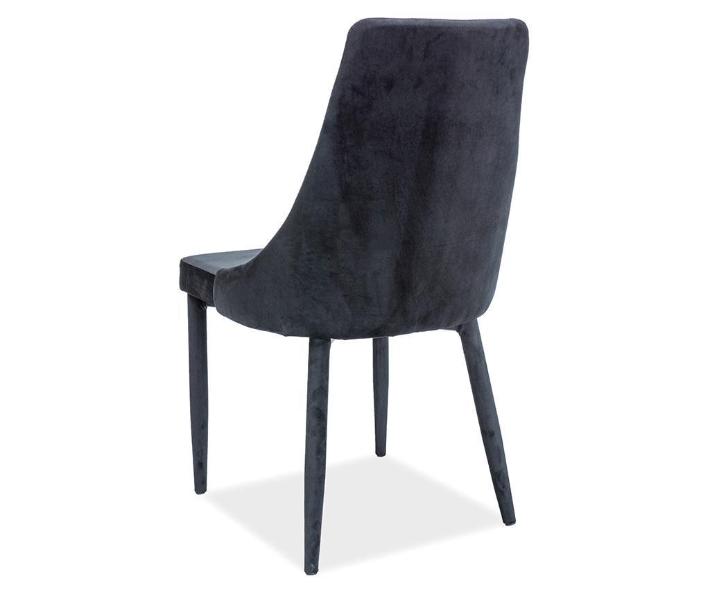 Καρέκλα Maxima Velvet Black