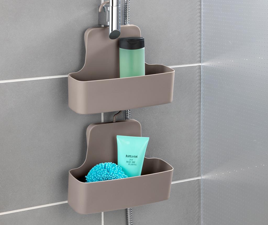 Držač za kupaonski pribor Barcelona Taupe