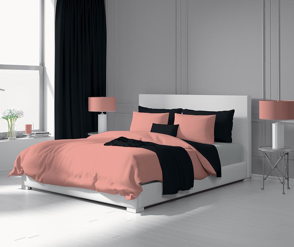 Duo Pink & Black Egyszemélyes Szatén ágynemű