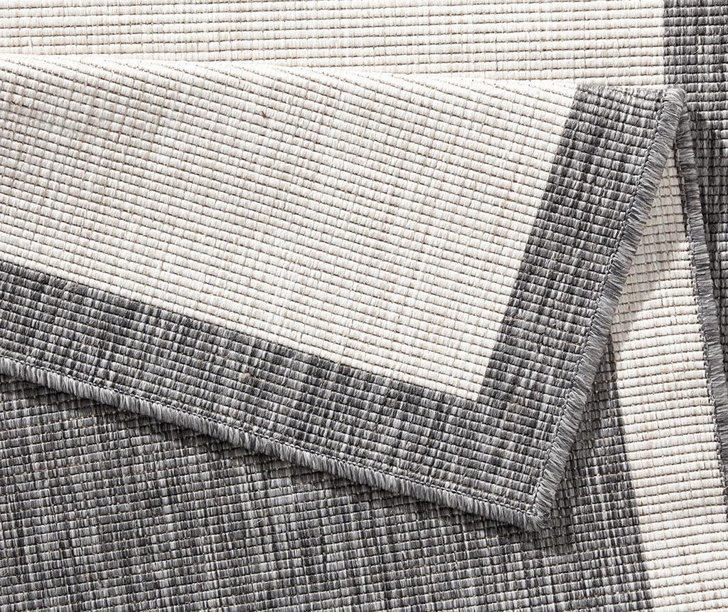 Panama Grey Cream Kültéri szőnyeg 120x170 cm