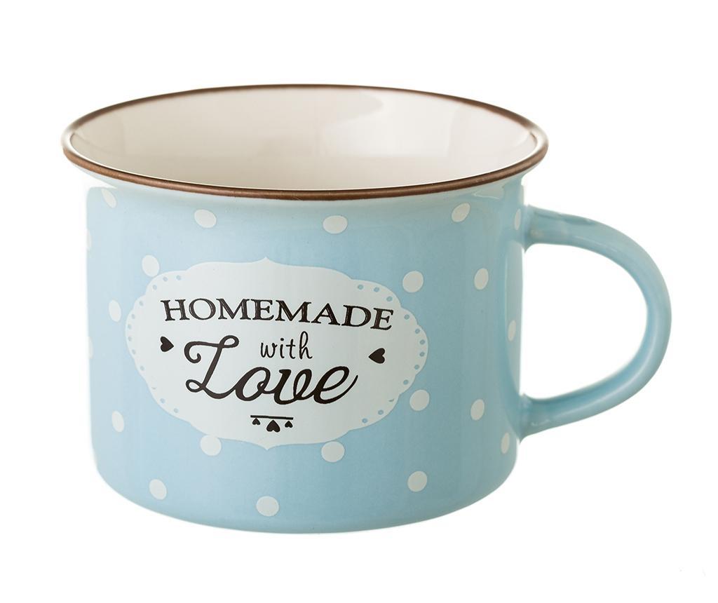 Homemade with Love Blue 4 db Bögre 170 ml