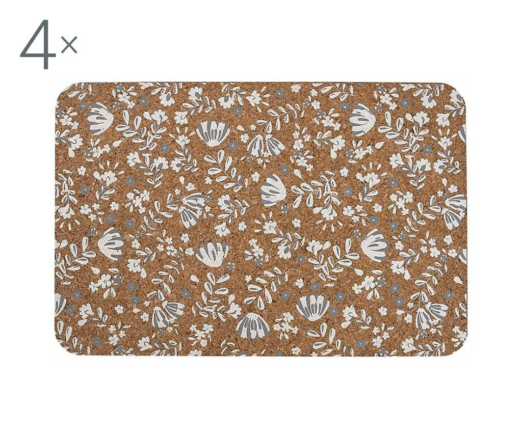 Set 4 suporturi farfurii Aimer La Vie White 30x47 cm
