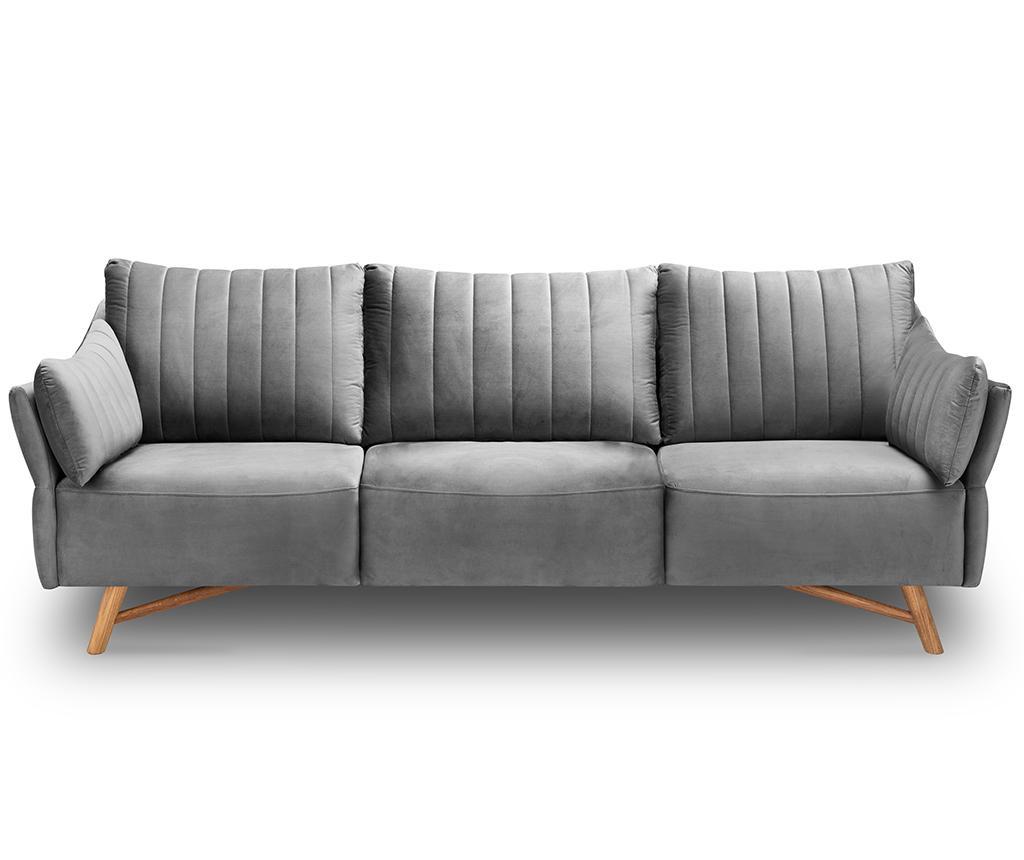 Canapea 3 locuri Elysee Light Grey