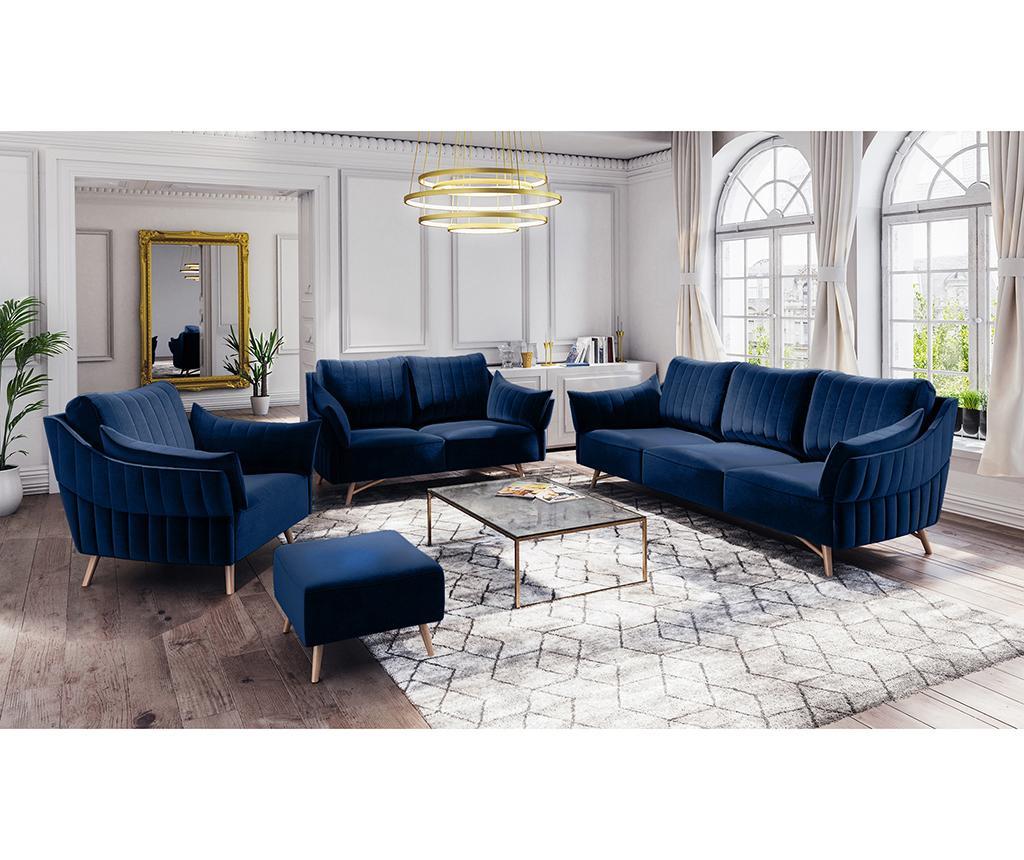 Canapea 3 locuri Elysee Royal Blue