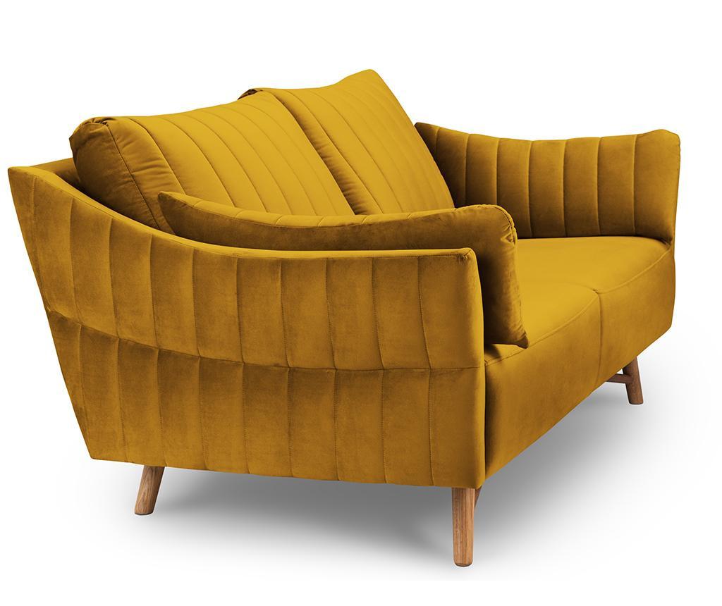 Canapea 2 locuri Elysee Gold