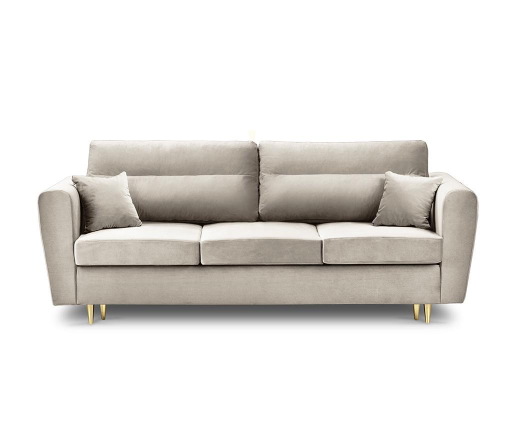 Canapea extensibila 3 locuri Remy Beige