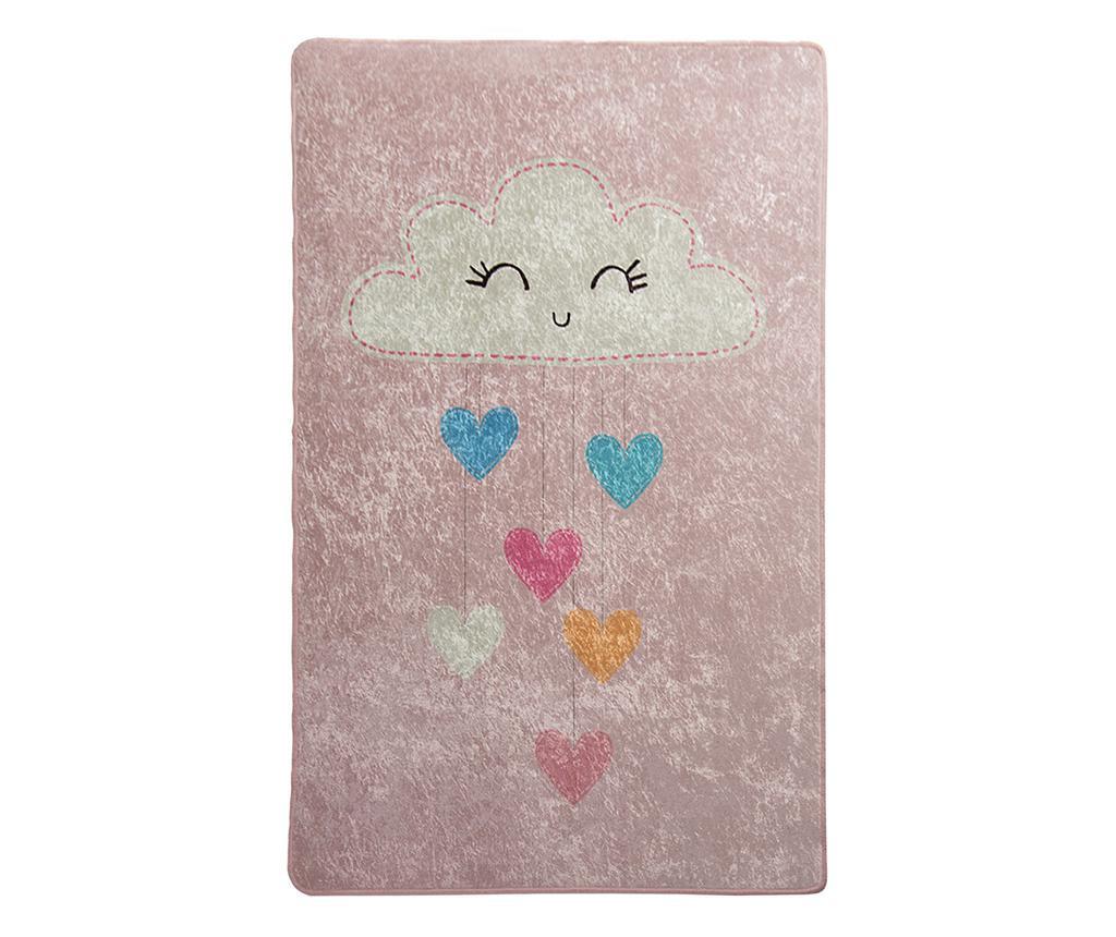 Baby Cloud Pink Szőnyeg 140x190 cm