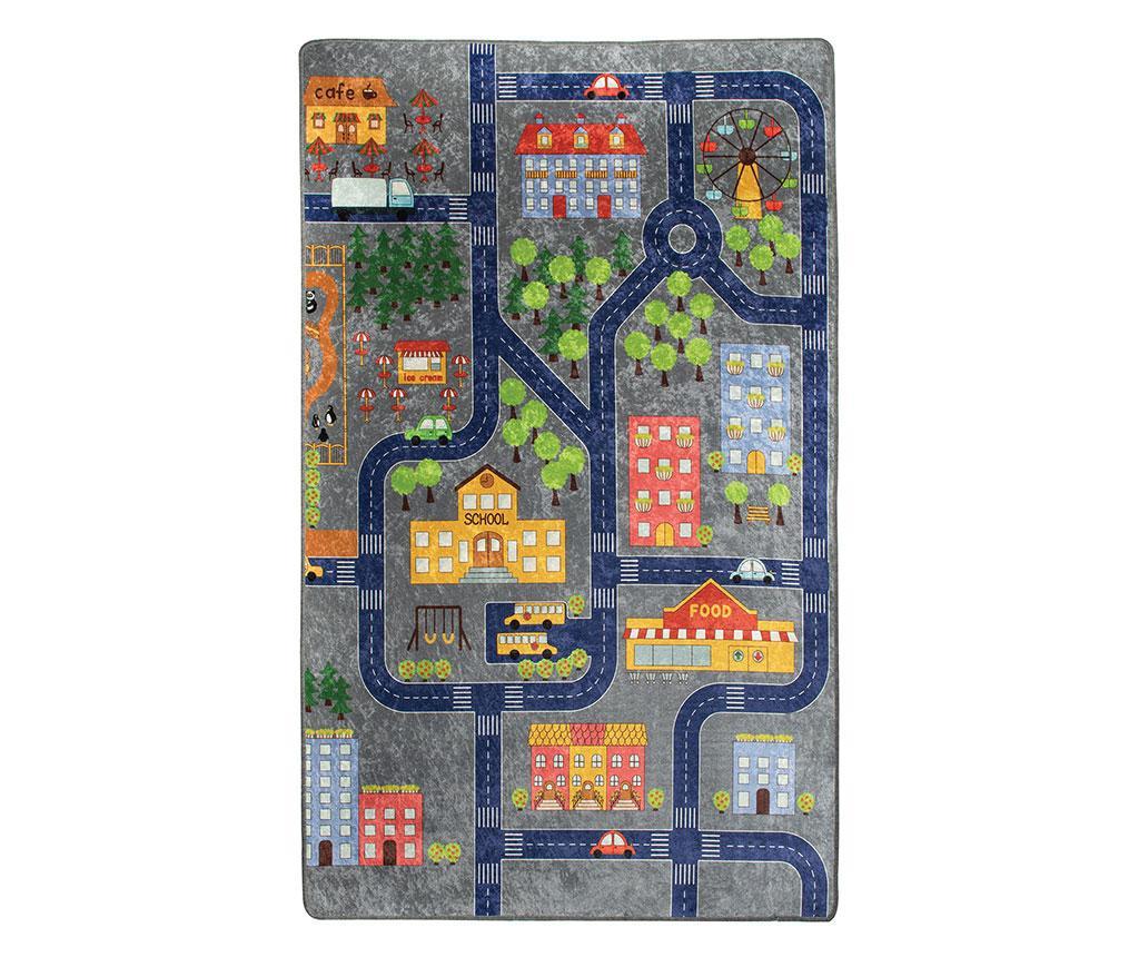Small Town Játszószőnyeg 100x160 cm