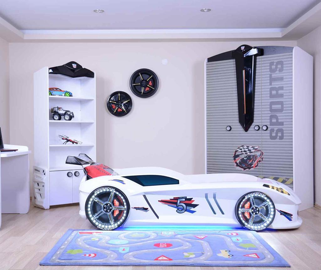 Otroški posteljni okvir Speedy White