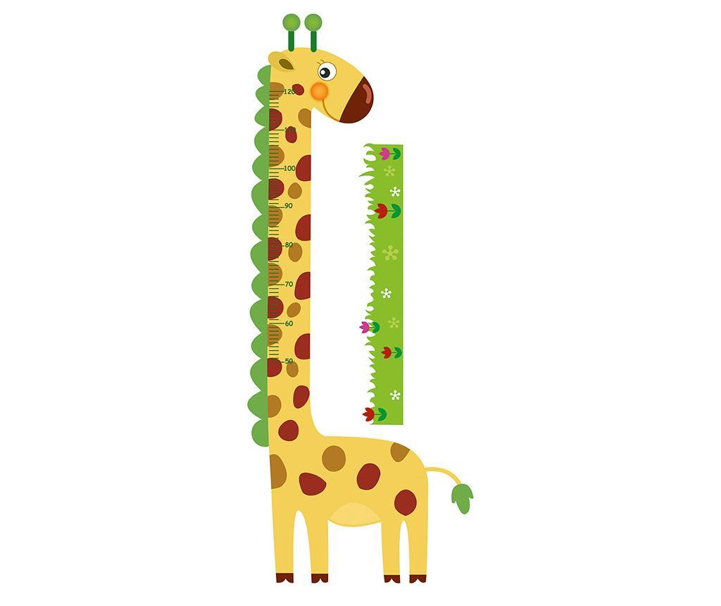 Αυτοκόλλητο για τη μέτρηση του ύψους των παιδιών Giraffe